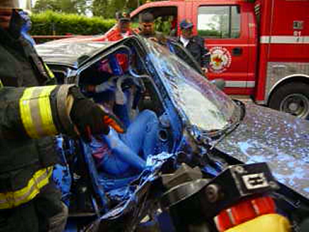 Extricación Vehicular / Cuerpo de Bomberos Voluntarios de Acacias, Colombia / Video Destacado de La Hermandad de Bomberos