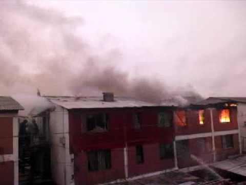 incendio en mi villa el bosque!!!!!!!!!!!!!!!!! la pintana / Video Destacado de La Hermandad de Bomberos