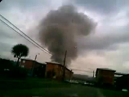 24 de Julio de 2010 / Incendio de  Elefante Blanco / Osorno en Chile