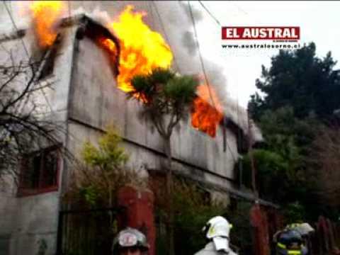Incendio del Elefante Blanco en Osorno, Chile