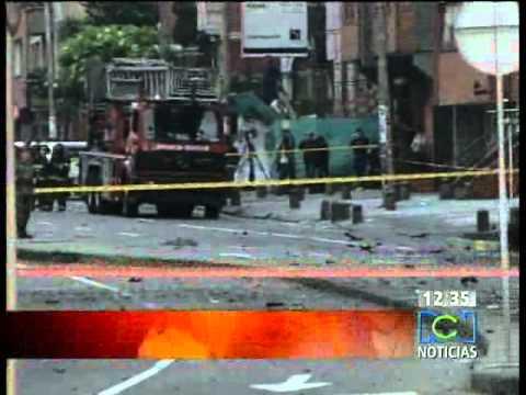Carro bomba en Bogotá / Atentado en Colombia
