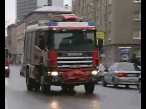 Publicidad camiones de  Bomberos Scania - By B.E.15