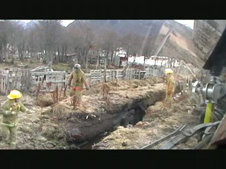 Rescatando a una yegua../ Ushuaia, Argentina / Video Destacado de La Hermandad de Bomberos