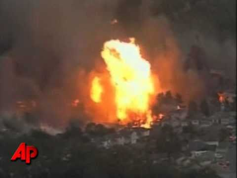 Explosion de cañeria de gas deja hasta el momento 6 muertos.San Francisco
