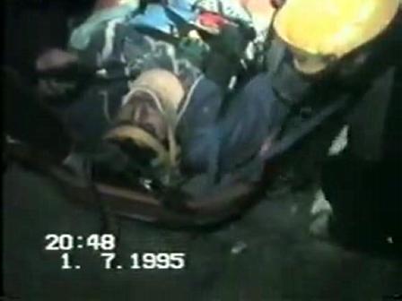 Video de 1995 / Bomberos de Villa Carlos Paz, Cordoba en Argentina / Rescate Motocilclista (2)