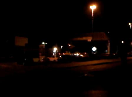 M31 yendo a un vuelco./Comodoro Rivadavia en Argentina