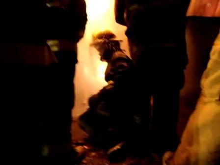 Entrenamiento en simulador de fuga de G.L.P.de Bomberos Vol. de Lujan / Video Destacado de La Hermandad de Bomberos