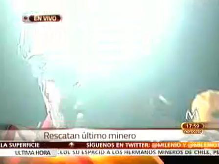 VIVA CHILE MIERDA!! Himno Chileno en la mina San José