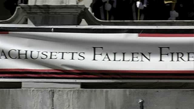 a video of the Annual Massachusetts Fallen Fire Fighters Memorial held each September 11.