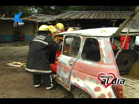 Bomberos Villavicencio Rescate Vehicular / Colombia