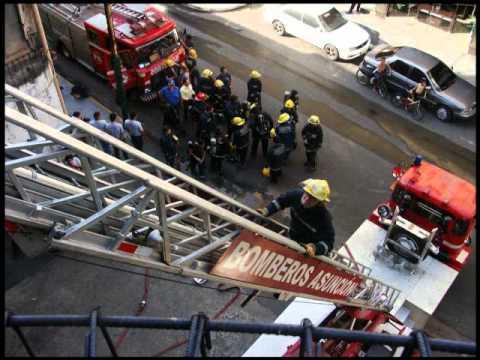 Práctica de los Bomberos de Asunción (CBVA)