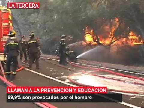 CHILE, incendios  forestales