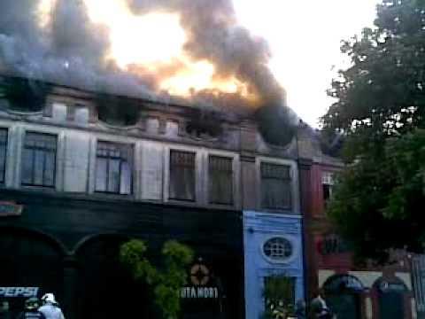 CHILE  incendio ramirez portales osorno