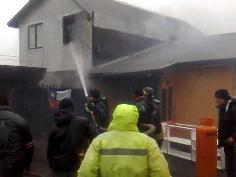 Incendio Casa Villamar, Talcahuano