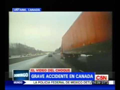 C5N GRAVE CHOQUE EN CANADA