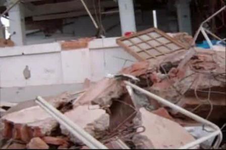 Febrero del 2010 / Asi quedo la ciudad de Constitución despues del Tsunami / Chile