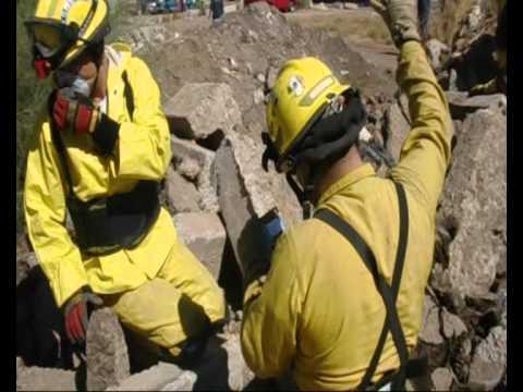 03 de febrero de 2011 / Curso CRECL / Equipo USAR de Bomberos Cajeme / Mexico