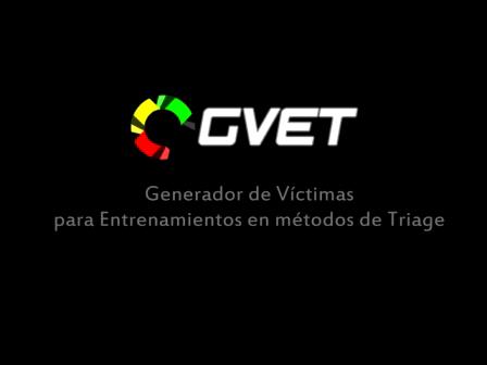 GVET   Software Generador de Vctimas para entrenamientos en Triage