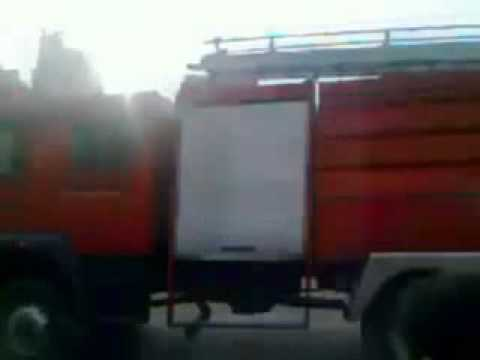 Egipto, camión de bomberos atropella a un manifestante de 17 años / Imagenes que pueden afectar la sensibilidad de las personas se recomienda discreción