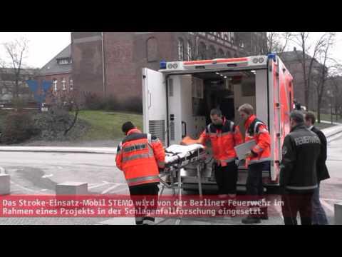 Ambulancia para accidentes cerebro vasculares / Berlin, alemania
