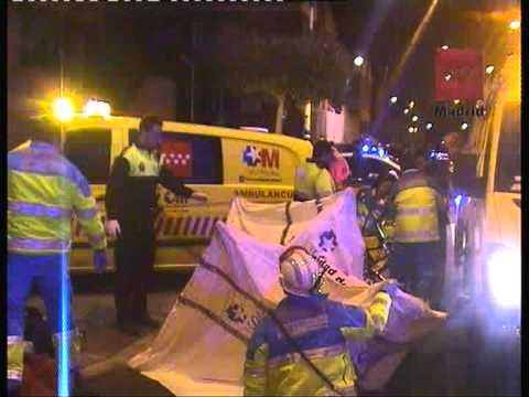 21 de Febrero de 2011 / Accidente de tráfico entre un turismo y un quad en Perales del Río / Madrid, España