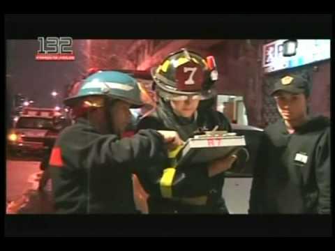 rescate de trabajador bomberos de chile