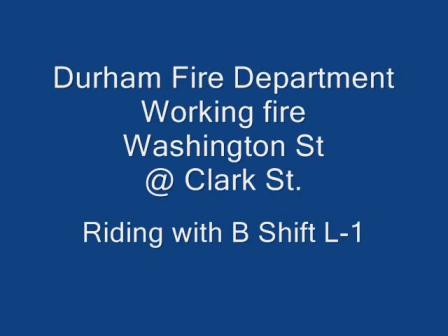 08 de Marzo de 2011 / Ventilación Vertical / Departamento de Bomberos de Durham en Carolina del Norte, Bull City / Estados Unidos