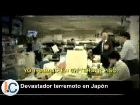 DEVASTADOR TERREMOTO EN JAPON