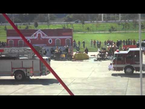 Bomberos Santiago (CBS) Ejercicio General 2011 I  (Chile) / Video Destacado de La Hermandad de Bomberos
