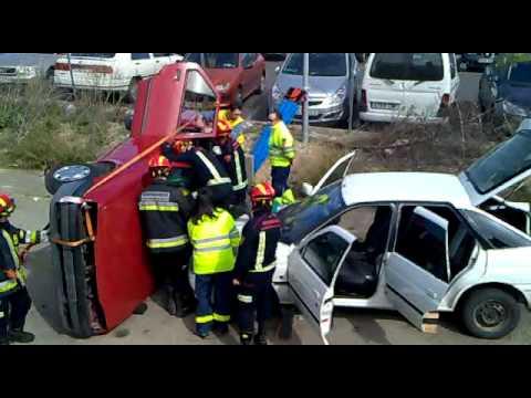 29 de Marzo de 2011 / Simulacro de Rescate Vehicular / Toledo, España