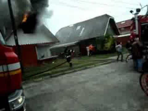 04 de Abril de 2011 / Incendio de Vivienda / Osorno, Chile