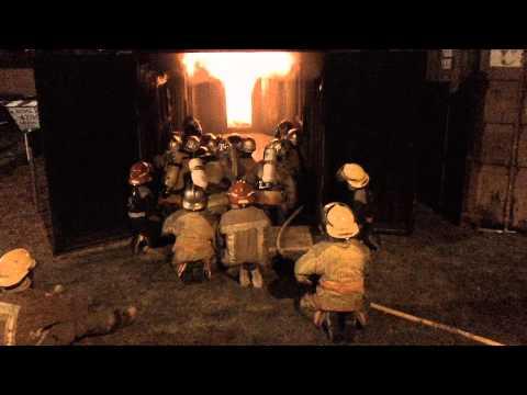 09 de Abril de 2011 / Simulador de Flashover de Lujan, Buenos Aires / Argentina / Video Destacado de La Hermandad de Bomberos