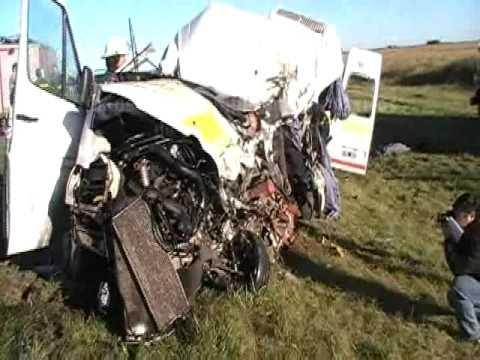 Accidente Ruta 7 / Bomberos Juan B. Alberdi / Buenos Aires en Argentina