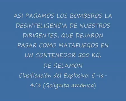 Marzo de 2000 / Explosión en Ingenieria Guerra / Ushuaia, Argentina / Video Destacado de La Hermandad de Bomberos