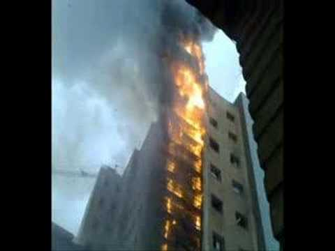 Incendio en el Hospital Miguel Servet / Cuerpo de Bomberos de Zaragoza / España