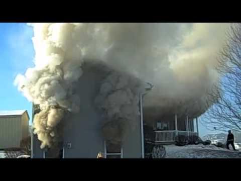Incendio en High Street. Washington.-