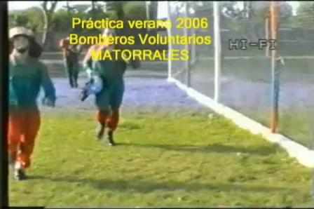 Práctica Bomberos Voluntarios de Matorrales / Cordoba, Argentina