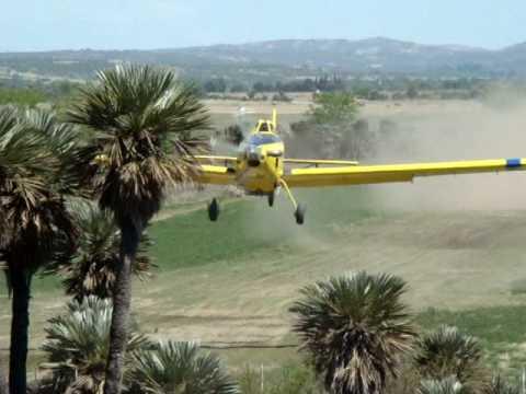 Air tractor en Cordoba, Argentina / Video Destacado de La Hermandad de Bomberos