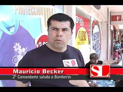 31 de diciembre de 2010 / Comandante Mauricio Becker / Cuerpo de Bomberos de Osorno, Chile