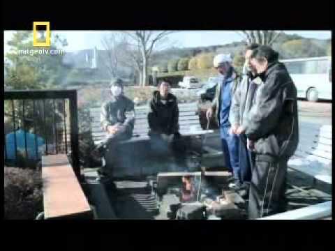 Un terremoto seguido de tsunami en Japón, Héroes Latinoamericanos en el canal National Geographics TV.