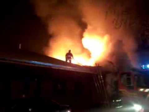 CHILE Incendio Yumbel con Carampague San Fernando 4-06-2011