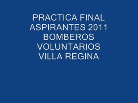 Fisico final aspirantes 2011 Villa Regina, Rio Negro.