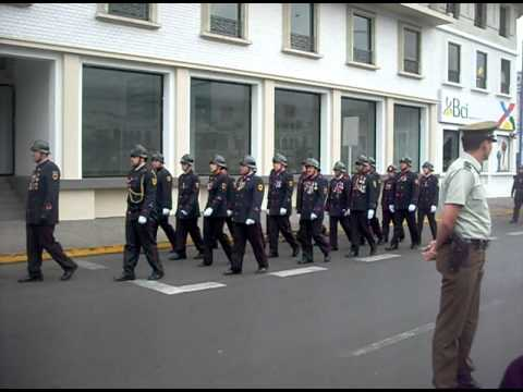 Dia del Bombero en Chile / Desfile de Cuerpos de Bomberos de Iquique / Chile
