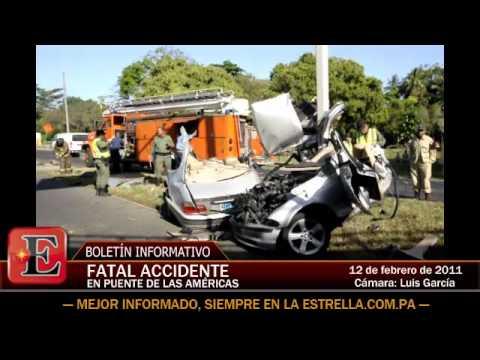 12 de Febrero de 2011 / Fatal Accidente en Puente de Las Américas / Panama