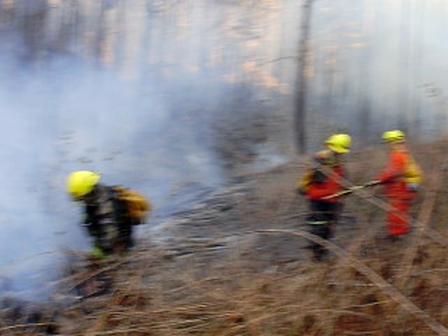 Incendio de Intiyaco / Córdoba en Argentina