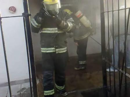 01-101 Incendio en Casa Habitación / Villa Maria, Córdoba en Argentina