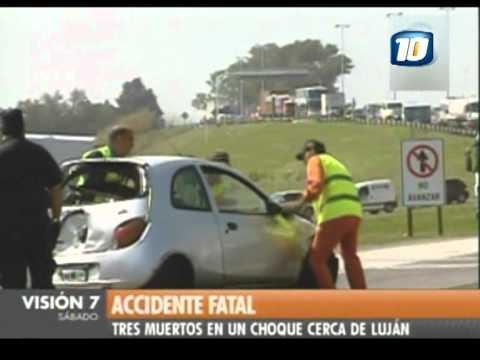 03 de Septiembre de 2011 / Accidente Fatal en Lujan / Buenos Aires en Argentina