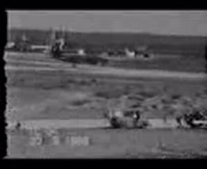 Accidente Aereo en Trelew aeronave electra / Argentina