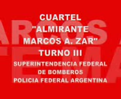 BOMBEROS POLICIA FEDERAL ARGENTINA CUARTEL ALMIRANTE MARCOS A. ZAR / ARGENTINA