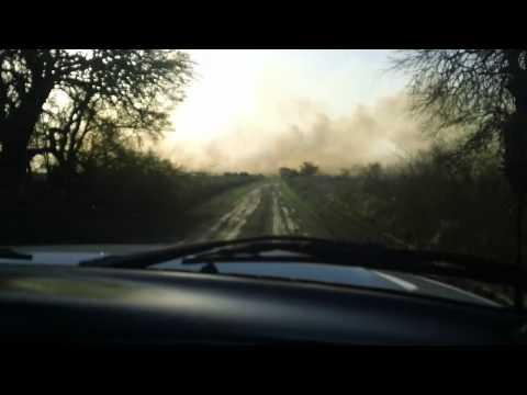 10 de Septiembre de 2011 / Incendio de Campo / Villa Maria, Cordoba